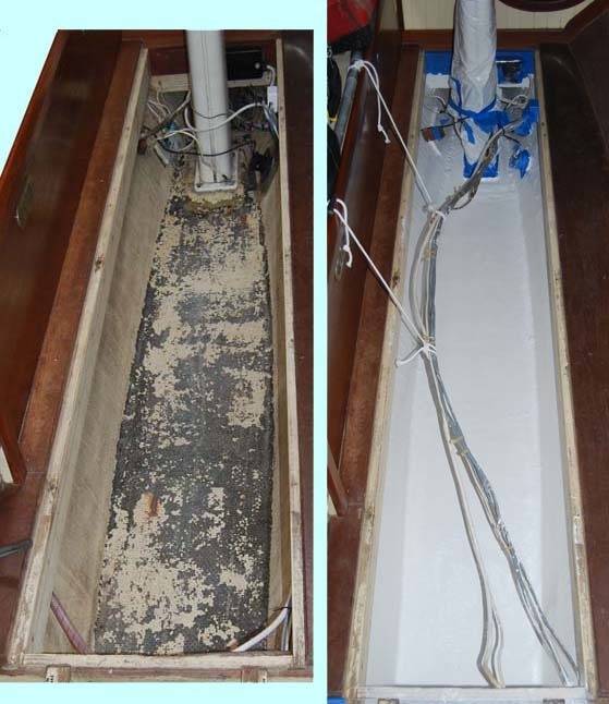 bilge without epoxy paint