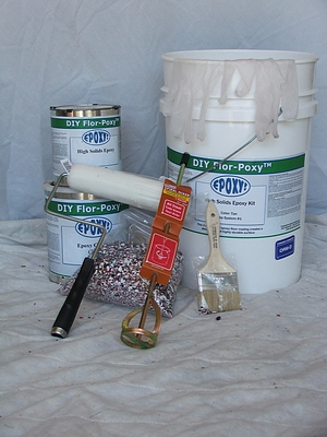 diy floor epoxy kit one