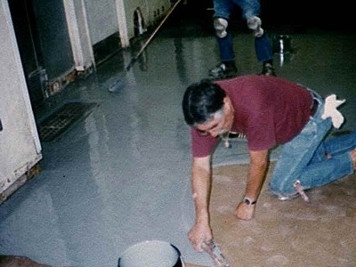 beginners guide to two part epoxy floors - garage basics