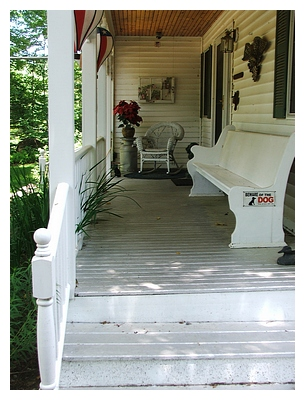 aluminum porch metallic paint