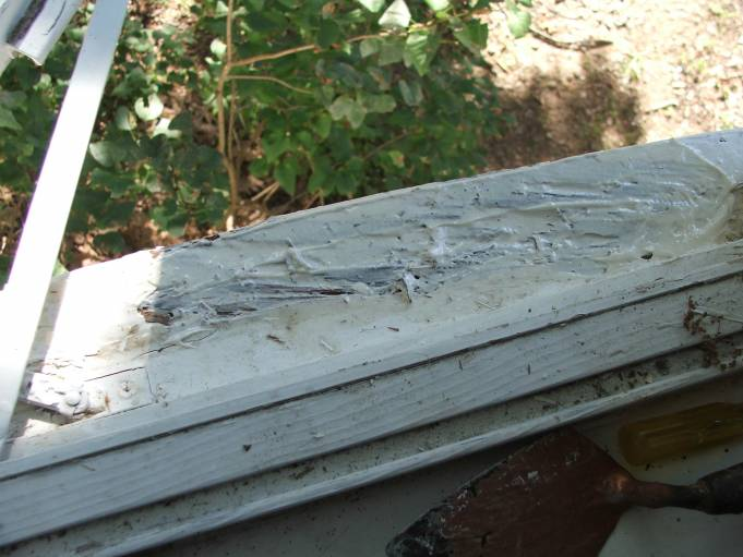 rotten window sill repair