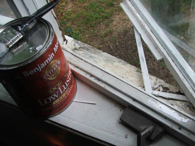 window sill repair rot