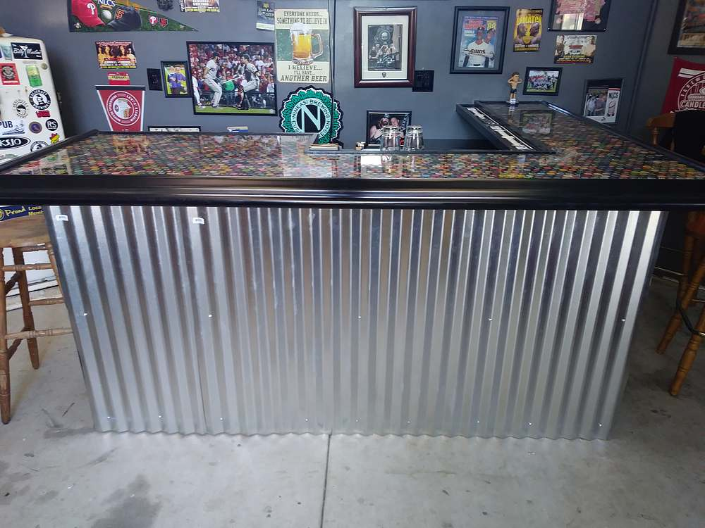 Gentil Epoxy Bottle Top Bar