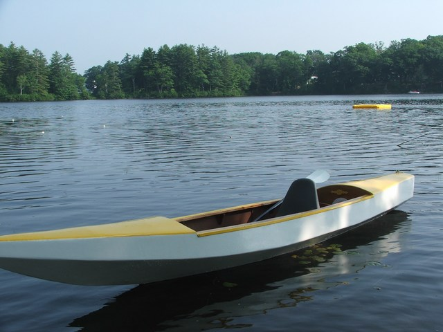 marine epoxy kayak